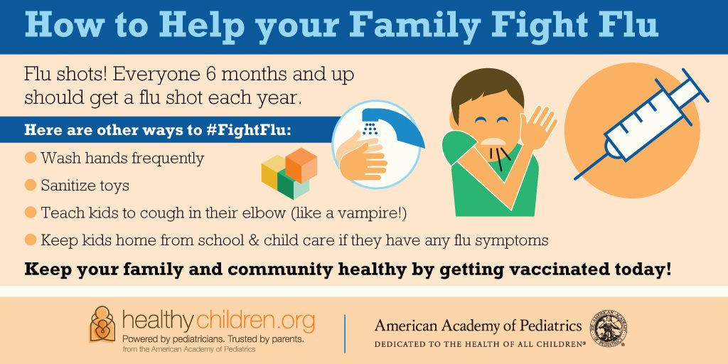 How To Help Your Family Fight Flu