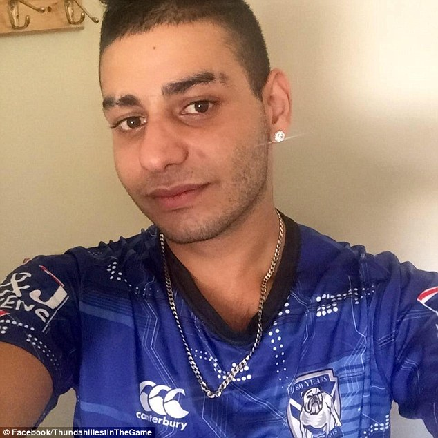 Noor Raad who raps under the name Thundah MC, was arrested at his Sydney home