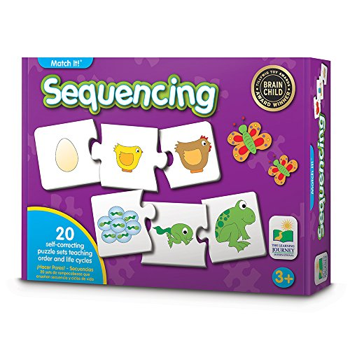 The Learning Journey Match It! - Sequencing - A What Comes Next Self-Correcting Puzzle to Teach Sequence